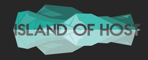 island of host logo
